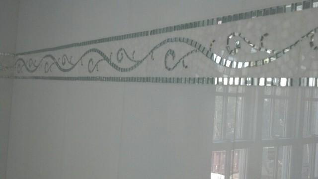 White Mirror Thassos Pattern floor-tiles