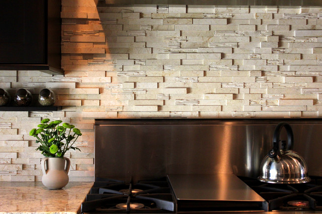 Azurastone - tropical - kitchen tile - by Azura Stoneworks