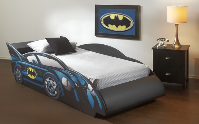 Batmobile Twin Car Bed Frame Modern Beds Toronto By Inspired
