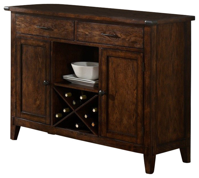 dark wood traditional buffets and sideboards by efurniture mart