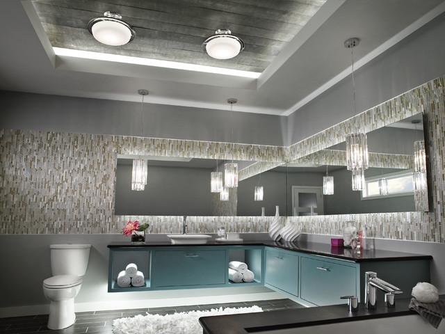 Cabinet Lighting - Contemporary - Bathroom Vanity Lighting - cleveland - by Kichler