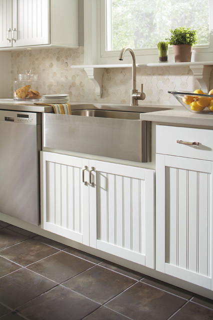 Aristokraft Country Sink Base Cabinet Contemporary Kitchen Cabinets