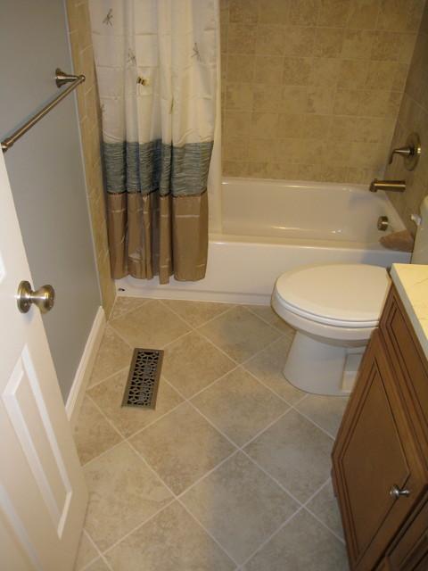 Guest Bathroom Complete Remodel traditional-bathroom