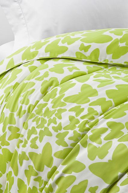 Diane von Furstenberg Butterflies Duvet eclectic-duvet-covers