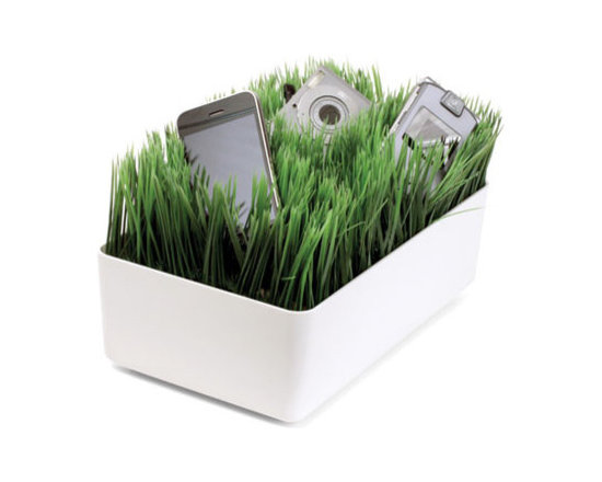 Grass Charging Station White -