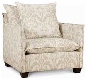 Landon Living Room Chair, Accent Chair traditional chairs