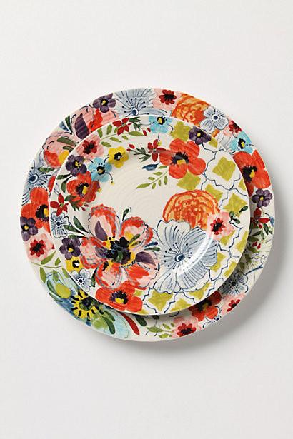 Sissinghurst Castle Dinner Plate eclectic-plates