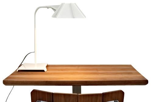 Hex Desk Lamp, White contemporary-desk-lamps