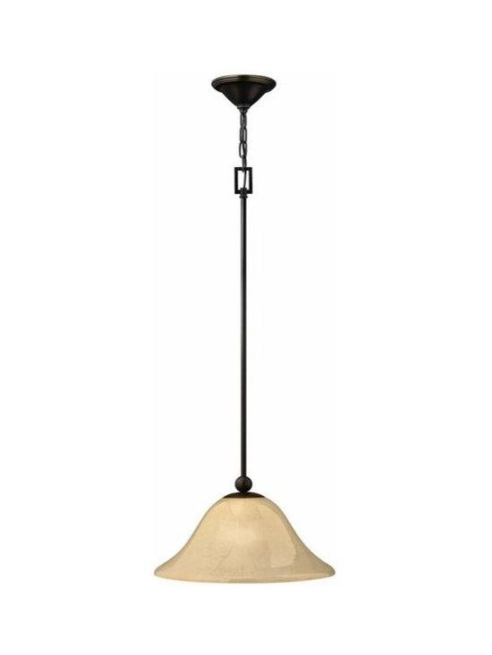 Hinkley Lighting 4661OB 1 Light Mid-Pendant Bolla Collection -