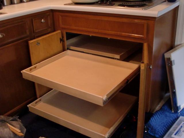 Blind Corner Solutions - Kitchen Drawer Organizers - portland - by ShelfGenie of Portland