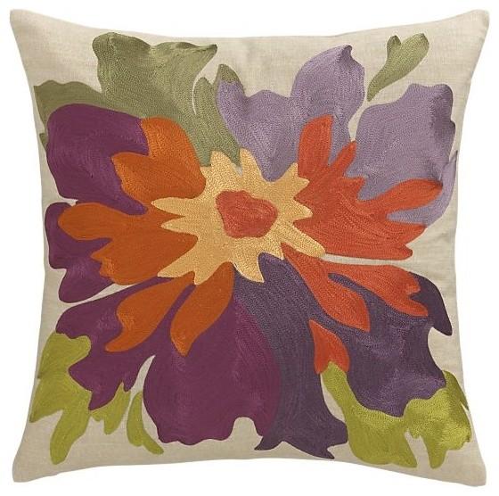 """Josie 18"""" Pillow modern-pillows"""