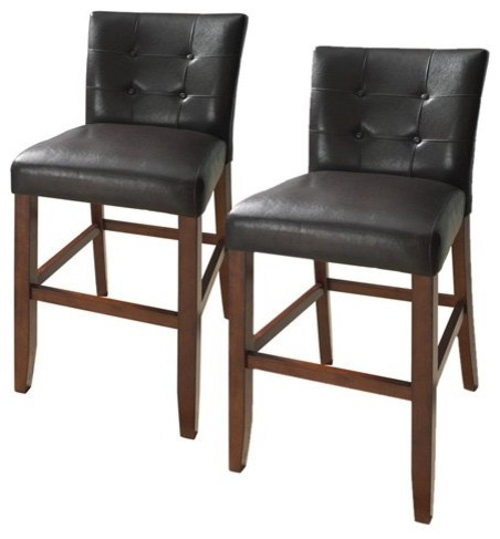 Steve Silver Montibello Counter Height Parsons Dining Chairs - Set of 2 modern-dining-chairs