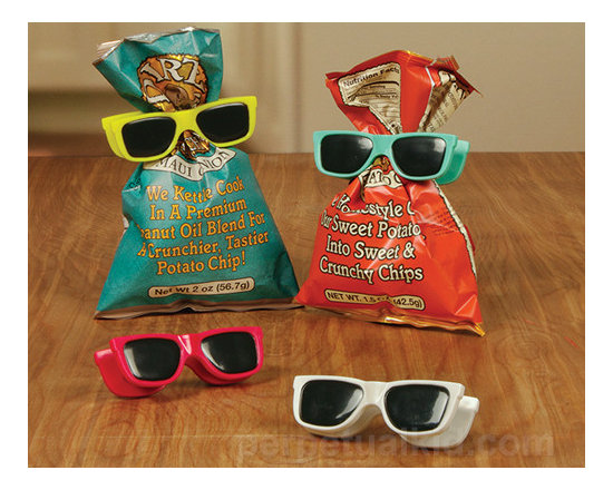Sunglasses Bag Clips, Set of 4 -