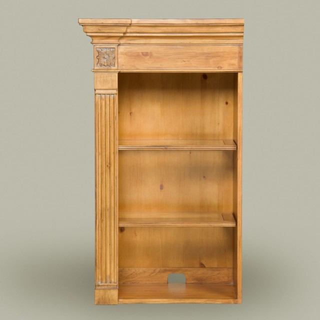 collector's classics clayton left bookcase upper cabinet - Traditional - Storage Cabinets - by ...