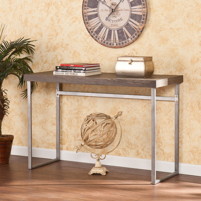 Upton Home Lumberton Console/ Sofa Table contemporary-indoor-pub-and-bistro-tables