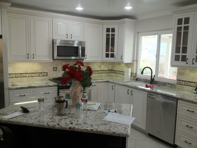 Daydream Kitchen (Showroom) traditional-kitchen-cabinets
