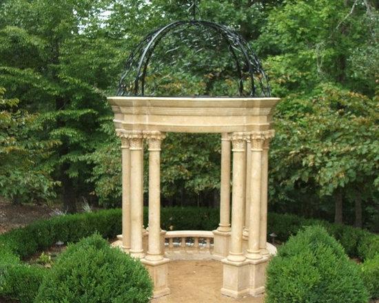 Custom Marble Garden Gazebo -