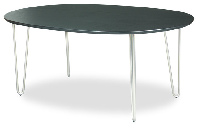 Vio Dining Table Oval Modern Dining Tables Other Metro