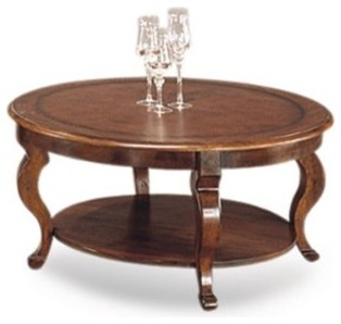 Pontevecchio Round Cocktail Cameo Legs traditional-coffee-tables