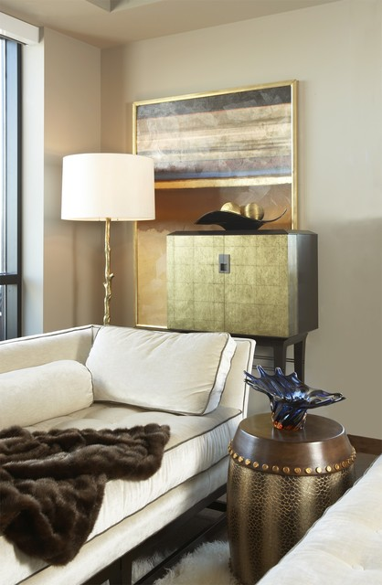Carlyle Penthouse eclectic-bedroom
