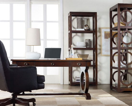 Hooker Furniture Home Office Kinsey Etagere - Hooker Furniture Home Office Kinsey Etagere, truly unique.