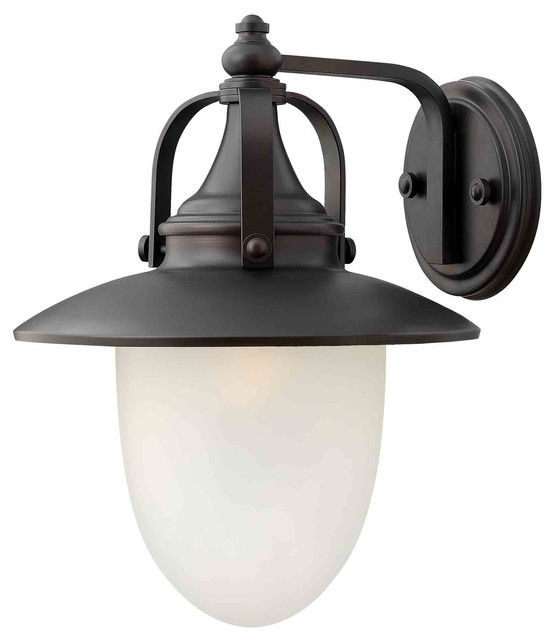Hinkley Lighting 2084SB Pembrook Spanish Bronze Outdoor Wall Sconce Farmhou