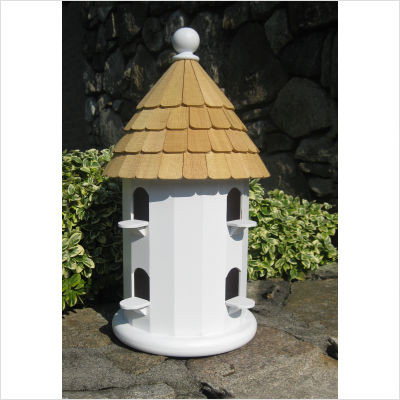 English Dovecote Round Birdhouse traditional birdhouses