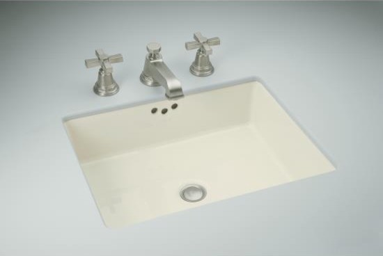 Kohler Kathryn Under Mount Bathroom Sink contemporary bathroom sinks