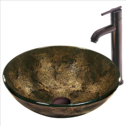 Traditional Bathroom Sink : ... Glass Vessel Sink Faucet - Traditional - Bathroom Sinks - by PoshHaus