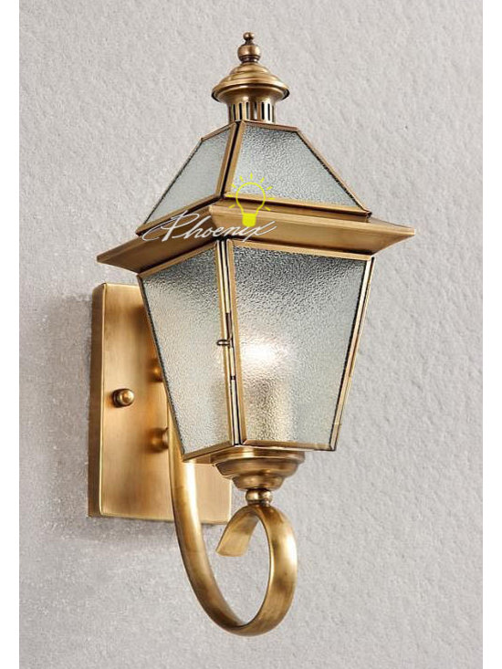 Europe Wall Copper Lights - Size:W16cm X H40cm