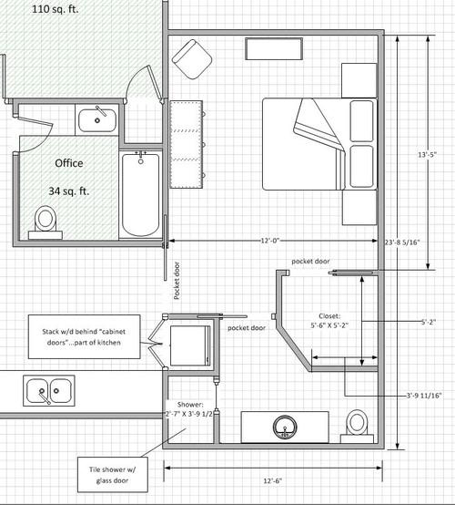 Garage to master bedroom conversion feedback please Garage conversion master bedroom suite