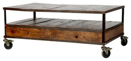 French Industrial Coffee Table  | Wisteria modern-coffee-tables