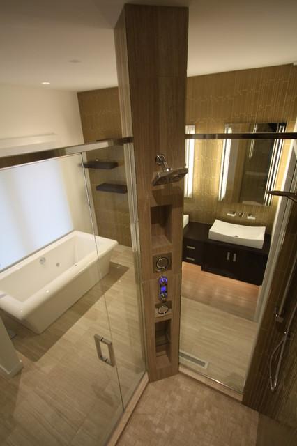 Shower Tower contemporary-bathroom