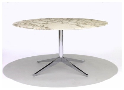 Round Florence Knoll Table | YLiving modern-dining-tables