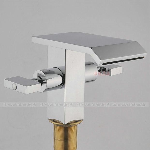 deck mount faucet modern