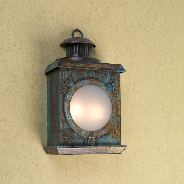 Wall Sconces Nautical : Nautical Lighting - Wall Sconces - new york - by Go Nautical Collections