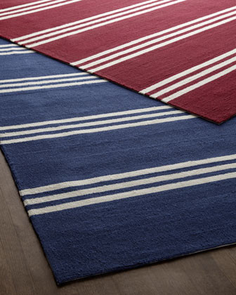 Chester Stripes Rug, 5' x 8' traditional-rugs