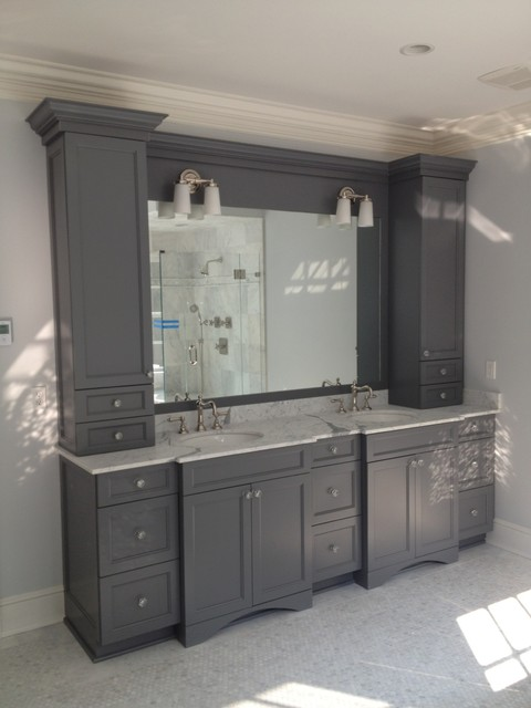 Europeanwoodcraft 39 s ideas for Bathroom ideas grey vanity