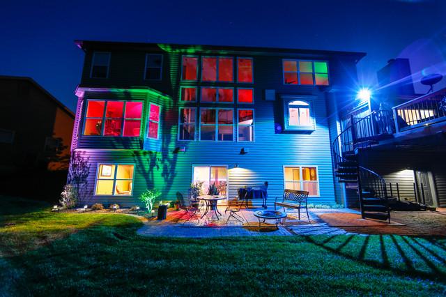 Led Landscape Lighting Color Changing Uplights Flood Lamp