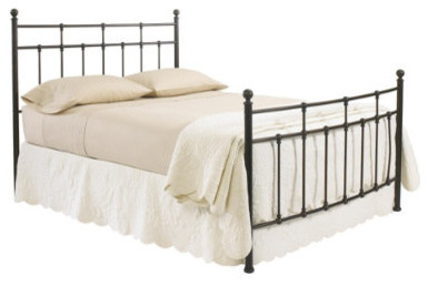 Oak Park Bed and Headboard traditional beds