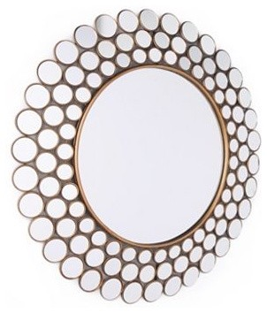 Emily Circles Mirror contemporary mirrors