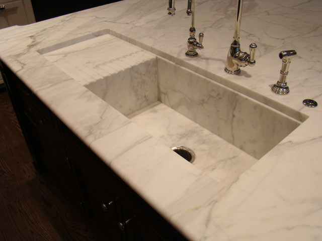 Custom Stone Sinks Traditional Kitchen Sinks Chicago