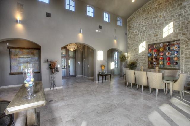Hillside Estate contemporary-living-room