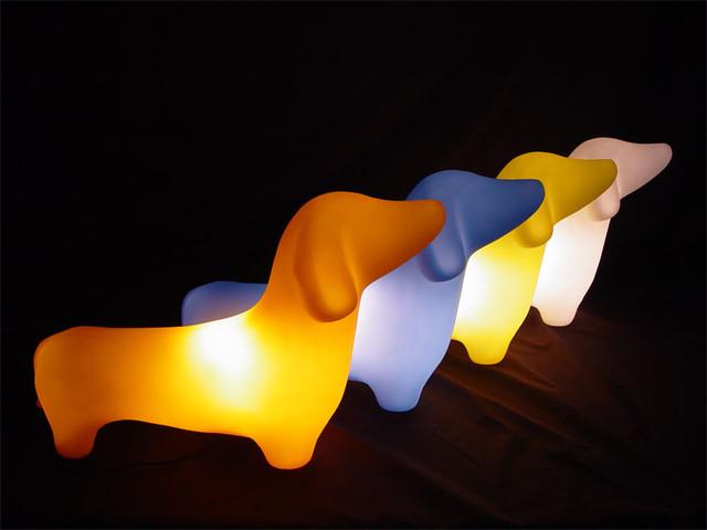 OFFI - MyPetLamp - Dachshund modern-kids-lighting