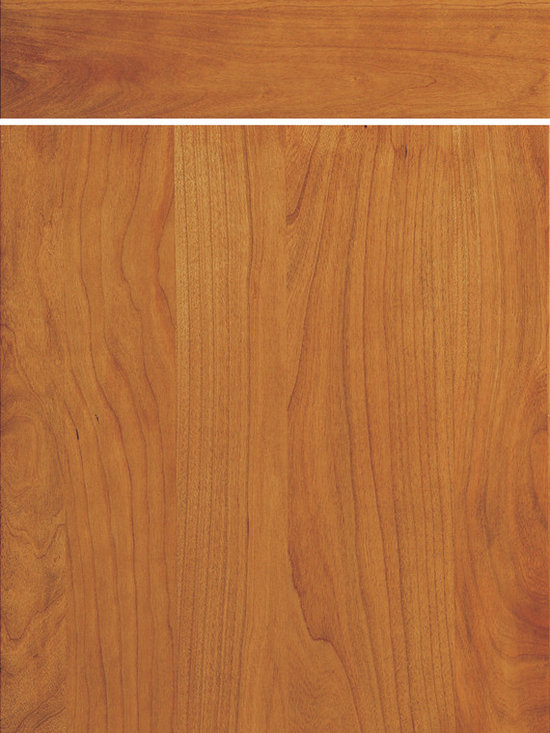 """Dura Supreme Cabinetry - Dura Supreme Cabinetry Camden Cabinet Door Style - Dura Supreme Cabinetry """"Camden"""" solid-wood cabinet door style in Cherry shown with Dura Supreme's Harvest finish."""