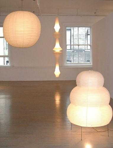 noguchi lamp 30f 50f 70f 125f by akari lamps modern