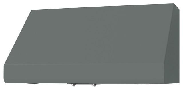 "36"" Prizer Incline Hood in Window Grey (RAL 7040) range-hoods-and-vents"