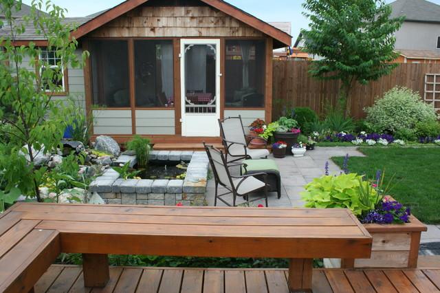 small backyard landscaping houzz