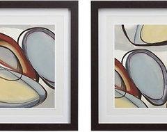 Set of 2 Circular Reasonings Prints contemporary-artwork