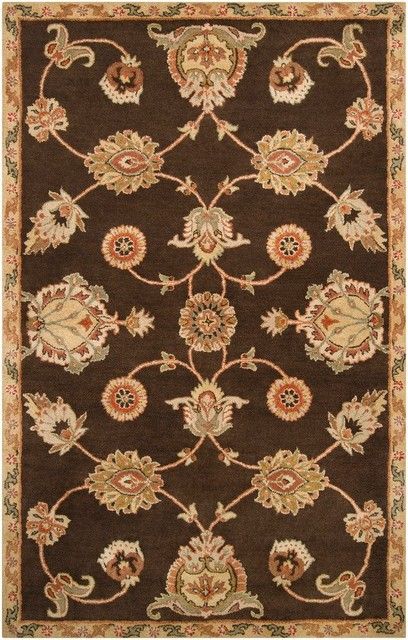 Langley Traditional Hand Tufted Wool Rug traditional-rugs
